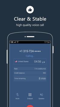 Free Call - Telefon: Kostenlos international Anruf Screenshot 1