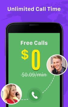 Call Free - Telefonnummern weltweit anrufen Screenshot 1