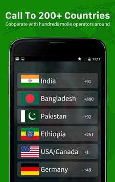 Call Free - Telefonnummern weltweit anrufen Screenshot 3
