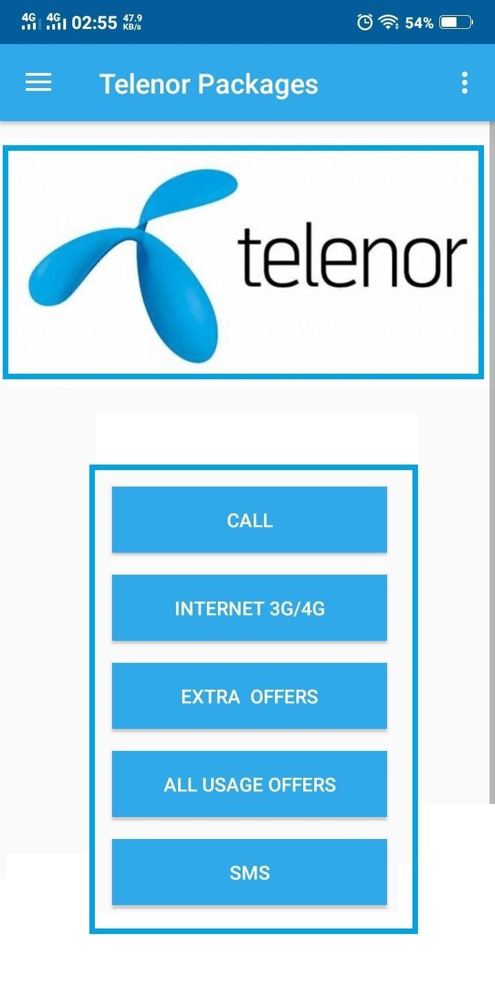 free call sms Pakistan mobile bundle packages app for