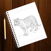 Free Drawing Tutorials - Animals (3rd Edition) icon