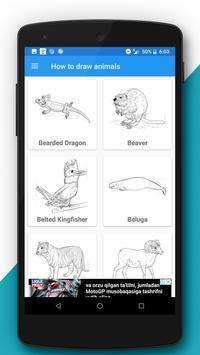 Free Drawing Tutorials - Animals (3rd Edition) screenshot 2