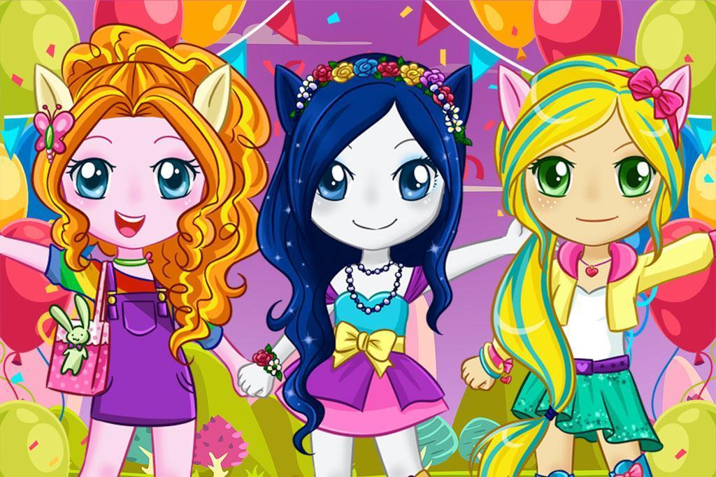 Juegos De Vestir Pony Gratis Para Chicas For Android Apk