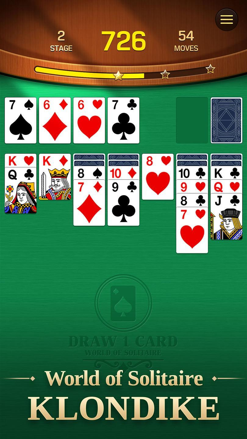 world of solitaire klondike for android  apk download