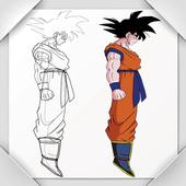 How To Draw Goku -Super Saiyan icon