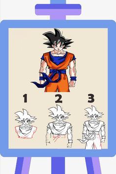 How To Draw Goku -Super Saiyan poster
