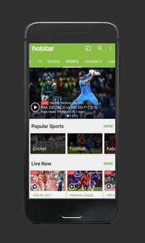 Hotstar Free HD Shows Tips स्क्रीनशॉट 2