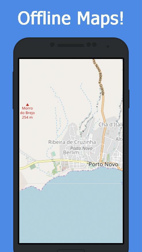 Offline Cape Verde Maps Gps für Android - APK herunterladen