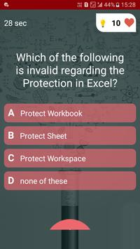 Free Ms - Office Test Quiz screenshot 3