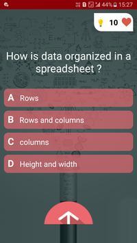 Free Ms - Office Test Quiz screenshot 1