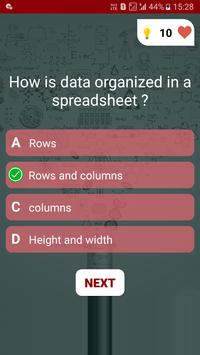 Free Ms - Office Test Quiz screenshot 2