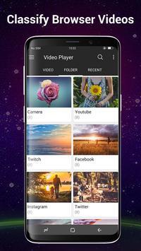 Video Player Todos los formatos para Android captura de pantalla 4