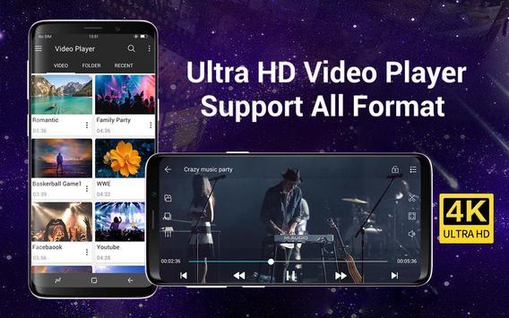 Video Player Todos los formatos para Android captura de pantalla 8