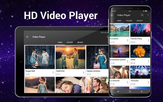 Video Player Todos los formatos para Android captura de pantalla 9