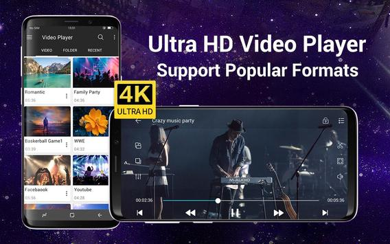 Video Player All Format para Android Cartaz