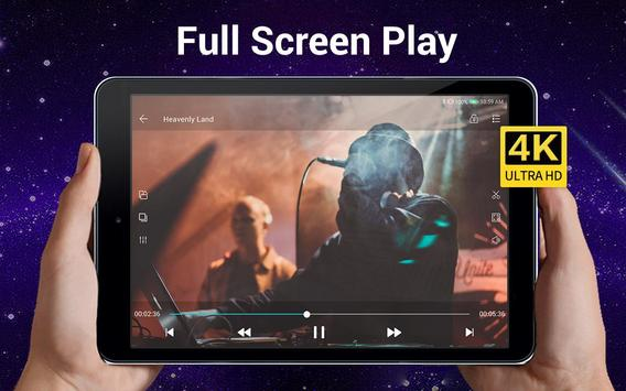 Video Player Todos los formatos para Android captura de pantalla 10
