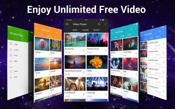 Video Player Todos los formatos para Android captura de pantalla 15