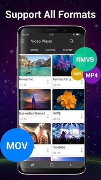 视频播放器所有格式为Android 截图 1