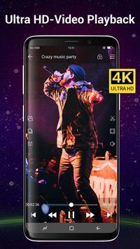 Video Player Todos los formatos para Android captura de pantalla 2