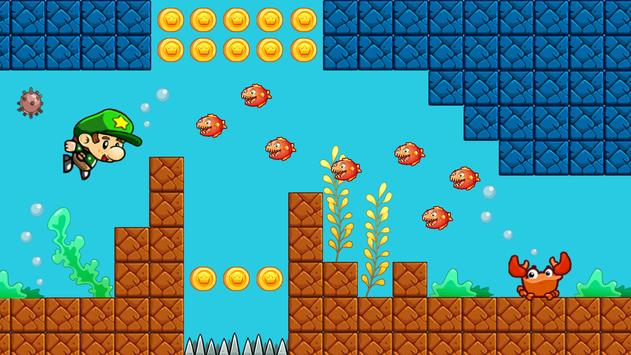 Super Bob's World: Jungle Adventure- Free Run Game screenshot 9