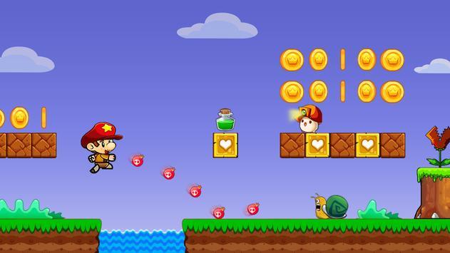 Super Bob's World: Jungle Adventure- Free Run Game screenshot 6