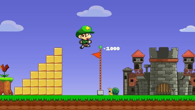 Super Bob's World: Jungle Adventure- Free Run Game screenshot 5