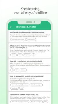 Learn DS & Algo, Programming Interview Preparation screenshot 3