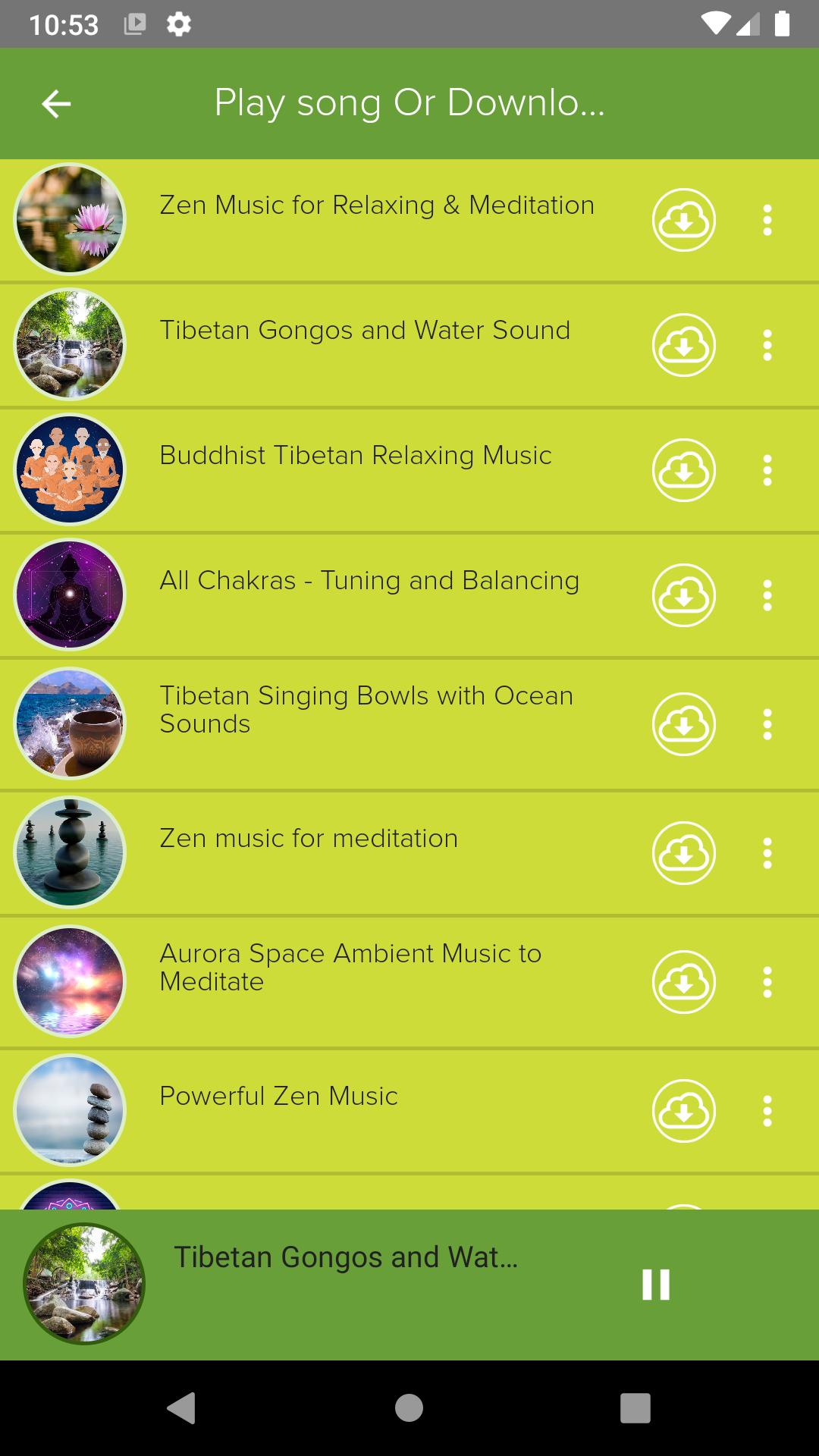 🧘 Relaxation - Free Relaxing Music App Offline 🎵 for