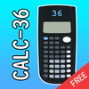 Scientific calculator 36, free ti calc plus أيقونة