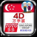 4D, TOTO, SG Sweep Large Fonts APK