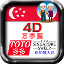 4D, TOTO, SG Sweep Large Fonts APK
