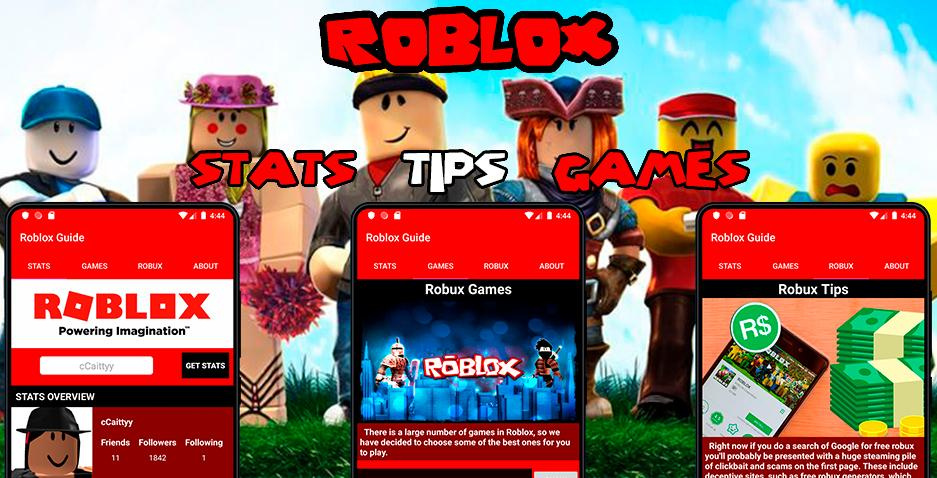Roblox Stats Games Information More For Android Apk Download