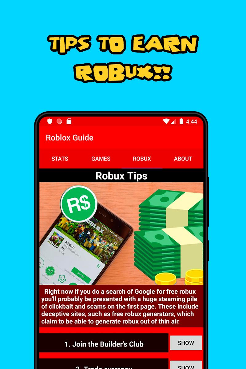 Roblox Stats, Games, Information & More for Android - APK