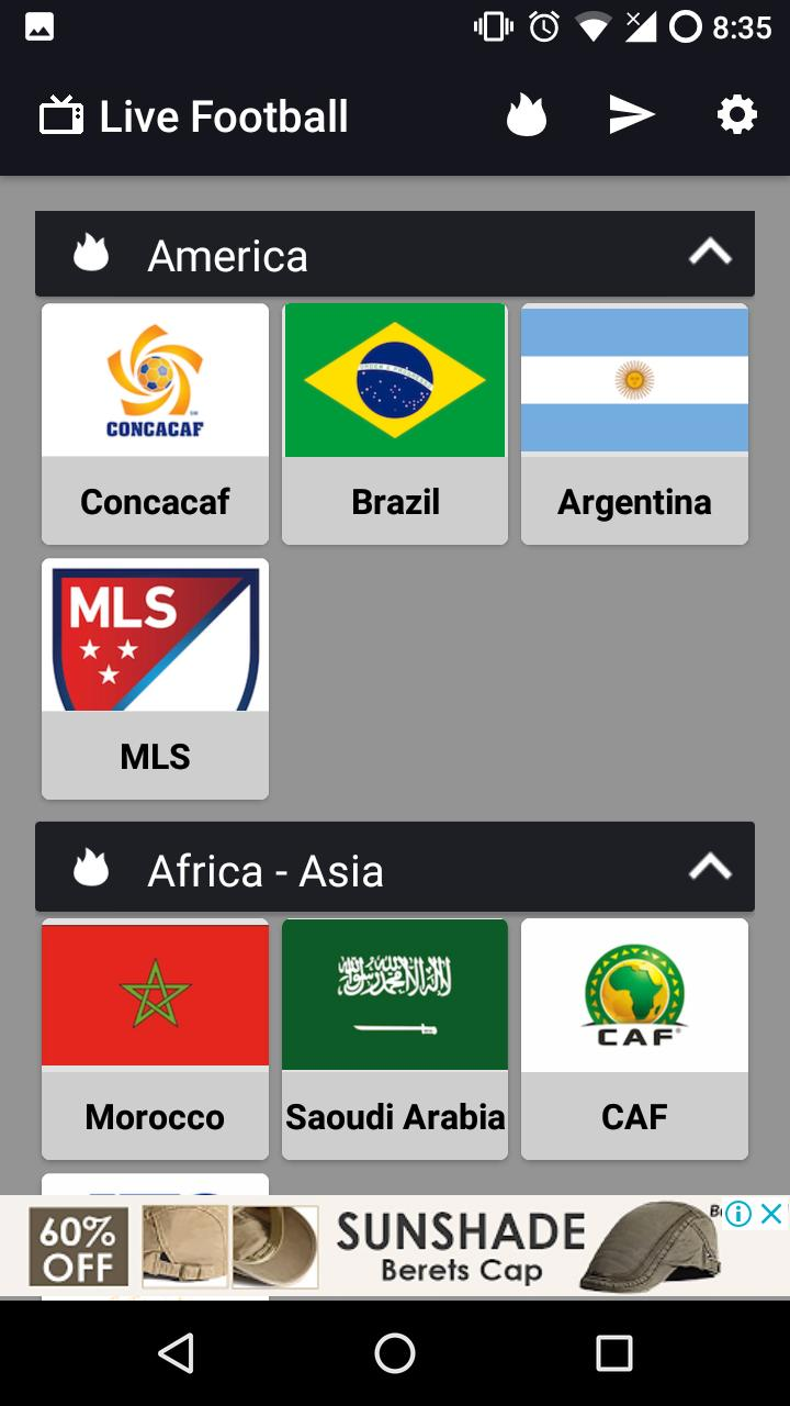Live Football on TV for Android - APK Download