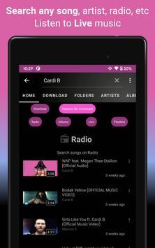 Download music, Free Music Player, MP3 Downloader screenshot 11