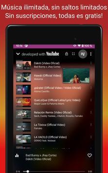 Descargar musica gratis; YouTube Musica Player;MP3 captura de pantalla 18