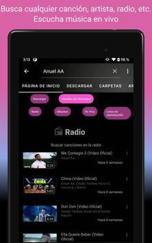 Descargar musica gratis; YouTube Musica Player;MP3 captura de pantalla 19