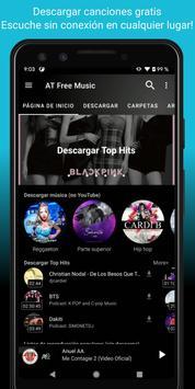 Descargar musica gratis; YouTube Musica Player;MP3 captura de pantalla 1