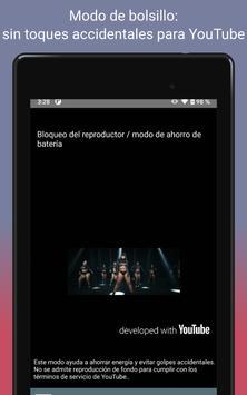 Descargar musica gratis; YouTube Musica Player;MP3 captura de pantalla 22