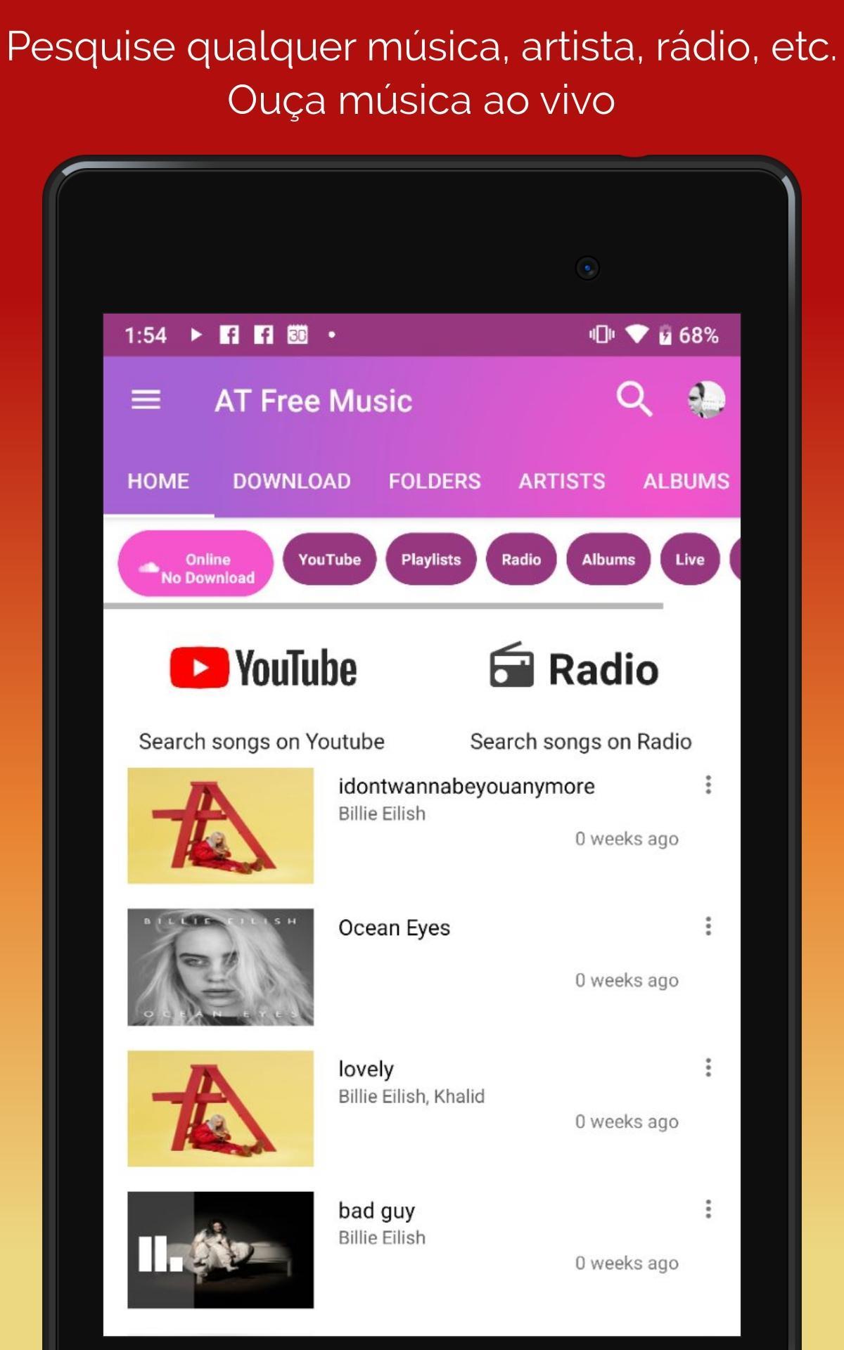 Baixar musicas gratis; YouTube Musicas Player; MP3 para