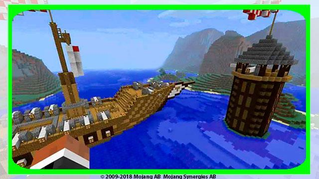 Ships Mod For Minecraft Pe For Android Apk Download
