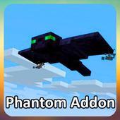 Phantom addon for minecraft icon