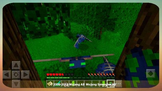 Phantom addon for minecraft poster