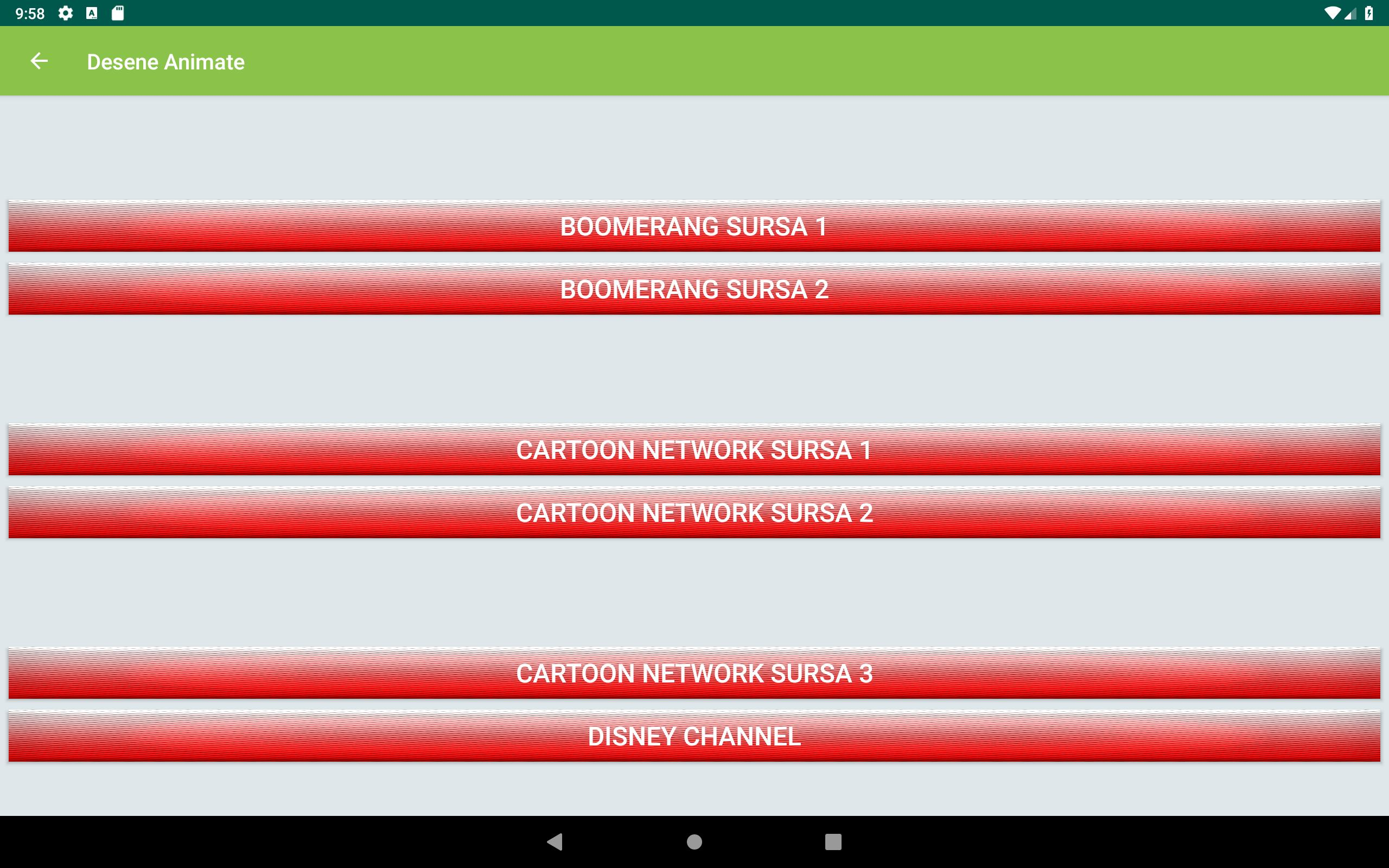 TV Romania Online Sopcast, Acestream, HTTP Streams for Android - APK