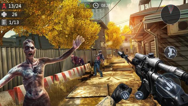 Zombie Encounter: Real Survival Shooter 3D- FPS screenshot 1