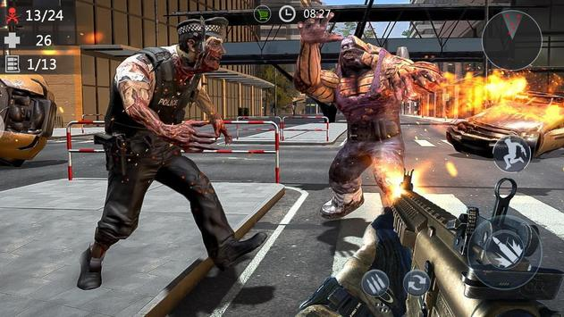 Zombie Encounter: Real Survival Shooter 3D- FPS screenshot 5