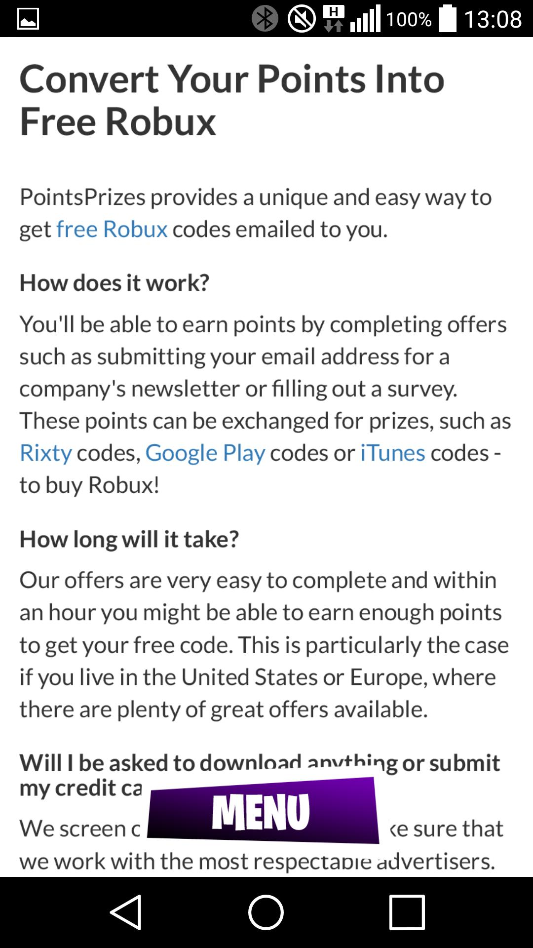 Roblox Convert Credit To Robux Get Free Robux Game Guide Rbx For Android Apk Download