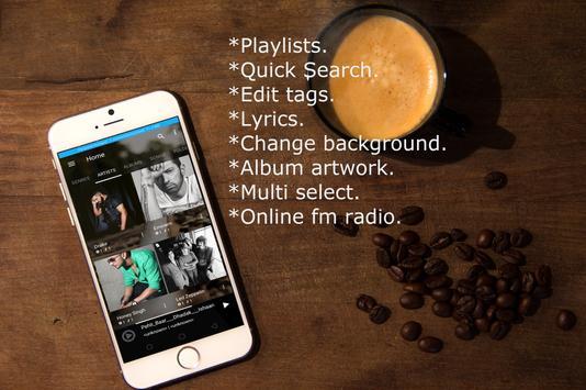 Mp3 music player. Play music on mp3 audio player. screenshot 7