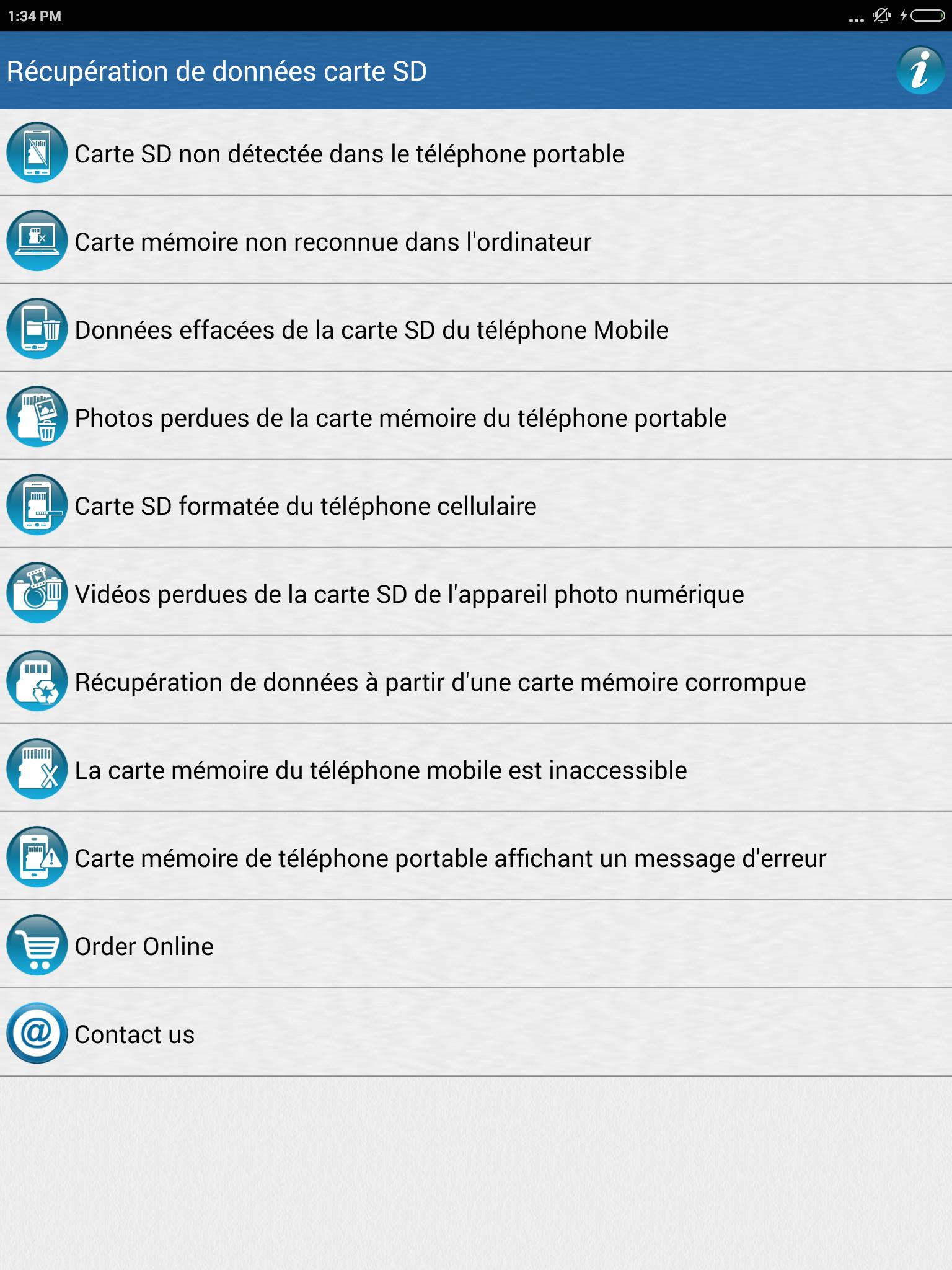carte sd non détectée android Récupération de données carte SD for Android   APK Download