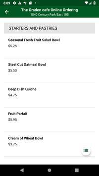 Garden Cafe Online Ordering screenshot 1